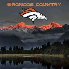 I chose this photo because I am a part of Broncos Country. Denver Broncos Baby, Broncos Gear, Nfl Broncos, Denver Broncos Football, Football Memes, Football Baby, Sport Football, Broncos Stadium, Broncos Cheerleaders