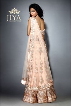 Jiya by Veer Design Studio Online Wedding Planner, Indian Bridal Couture, Bridal Lehenga, Wedding Vendors, Desi Wedding, Indian Attire, Bollywood Fashion, Indian Fashion, Net Dresses