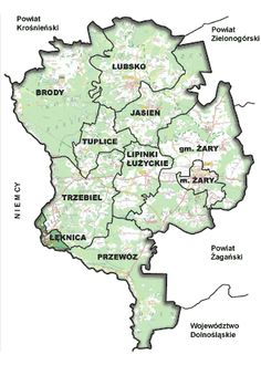 Gminy powiatu ŻARY - Szukaj w Google