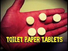 INCREDIBLE! Bug Out Bag Toilet Paper Tablets - SurvivalKit.com SurvivalKit.com