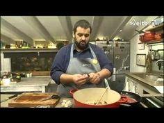 ROBINFOOD / Ajoblanco de coco + Pasta pomodoro con albahaca - YouTube