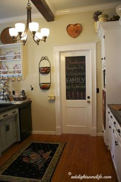 diy so beautiful budget farmhouse kitchen makeover she list every detail so - Raised Ranch Kitchen Remodel