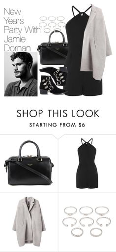 """""""New Years Party with Jamie Dornan"""" by onedirectionimagineoutfits99 ❤ liked on Polyvore featuring Yves Saint Laurent, Topshop, Zero + Maria Cornejo, Forever 21, Toga and Hogan"""