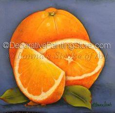 Oranges Pattern - Lonna Lamb - PDF DOWNLOAD