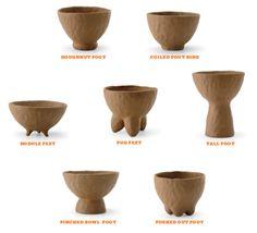 Clay Pinch Pots, Ceramic Pinch Pots, Ceramic Bowls, Ceramic Art, Ceramic Mugs, Ceramic Studio, Pottery Pots, Slab Pottery, Ceramic Pottery