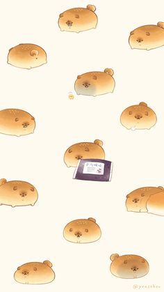 """いーすとけん。【公式】 on Twitter: """"スマホで使える壁紙用に 不器用だけど本当はやさしいとさあんこを集めました🍞 #いーすとけん。 #yeastken #とさあんこ #壁紙 #待ち受け… """" Cute Food Drawings, Cute Animal Drawings Kawaii, Cute Cartoon Drawings, Kawaii Art, Cute Food Wallpaper, Kawaii Wallpaper, Animal Wallpaper, Wallpaper Iphone Cute, Cute Food Art"""