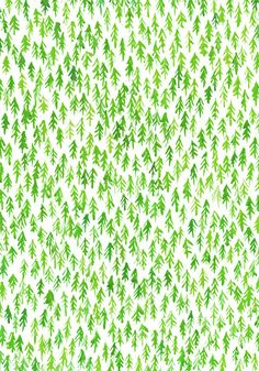 Tree pattern. would look super cool on baby room wall.