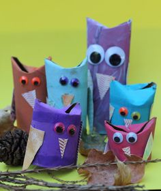 *Let's Craft*: Cardboard Tube Owls Craft Project #2 Community Forums - p1 - Food.com