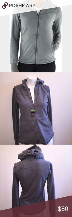 Recreation  equipment inc Zip hoodie Brand new. Quality hoodie. With thumb whole Tops Sweatshirts & Hoodies