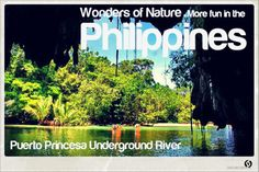 Puerto Princesa Underground River (PPUR) is now confirmed as one of the of Nature. More fun in the Philippines! Puerto Princesa, Natural Wonders, More Fun, Philippines, River, Nature, Naturaleza, Nature Illustration, Off Grid