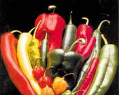 Jardins - Le piment, cadeau du nouveau monde // Échelle de Scoville (Types de piments, tous disponibles chez nous) Nom: Nombre d'unités Scoville Poivron et piment doux: 0 Peperoncini: 100-500 Cerise fort: 1000 - 2500 Jalapeno: 2500 - 5000 Banane fort: 5000 - 10 000 Cayenne, tabasco: 30 000 - 50 000 Scotch bonnet: 100 000 - 200 000 Habanero: 200 000 - 300 000 Capsaïcine pure: 16 millions