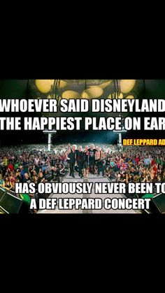 Yup! I had a blast seeing them with Journey and Billy Idol at Jack's First Show