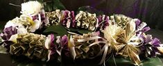 Purple and Grey MONEY LEI graduation gift butterfly flower pattern gift idea for him gift for her birthday party graduation celebration gift Money Lei, Cash Money, 70th Birthday Gifts, Birthday Celebration, Graduation Celebration, Baby Shower Gifts, Baby Gifts, Luvs Diapers, August Birthday