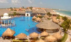 NOW Sapphire Riviera Cancun  Just came back from there and we LOVED it! Highly recommend it!