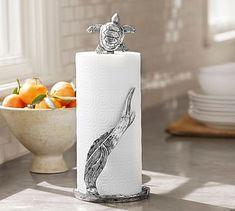 Turtle Paper Towel Holder #potterybarn