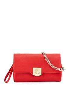 Thin Leather Crossbody Bag