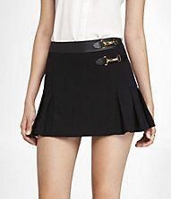 Express: Pleated Kilt Skirt