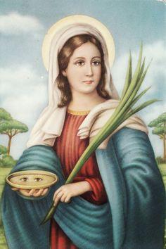 Oracion a SANTA LUCIA-I