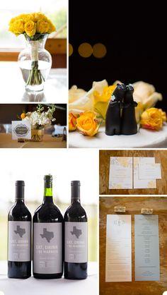 Texas vineyard wedding