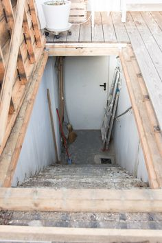 Best Basement With Enclosed Outside Stairs Hidden Basement 400 x 300
