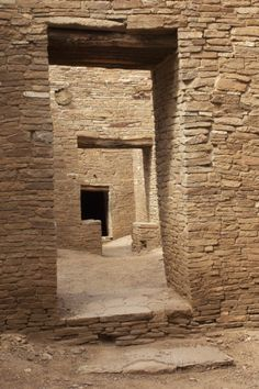 Doorways Inside Pueblo Bonito, an Anasazi/Ancestral Puebloan Site in Chaco Canyon, New Mexico Photographic Print Christmas Berries, Adobe, Principles Of Design, Mystery Of History, Architecture Old, Ancient Ruins, Old Stone, Stone Work, Doorway