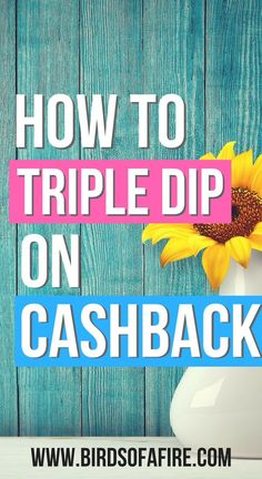 You've heard of cashback right? Did you know you could double, even triple dip? Considering you spend $10,000s per year, how much would an extra discount on every purchase you make add up to? #makemoney #savemoney #cashback #doubledip #tripledip