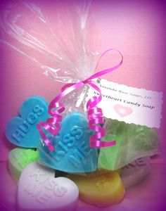Valentine's Sweet Heart Soap Set: https://www.outbid.com/auctions/7952-affordable-luxurious-bath-and-beauty-items#33