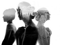 Double Exposure Portraits  La photographe bulgare Aneta Ivanova laisse entrevoir une douceur délicate dans ses clichés à l'aide de la technique de la double exposition. Corps de femme et milieux extérieurs se confondent et se complètent pour donner une série de photos splendides. A découvrir sur son portfolio et dans la suite de l'article