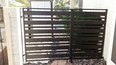 Iron Gates Las Vegas NV We make our All Custom Iron Gates in our show by hand, all of our iron gates are individually made to fit each customer's wants and needs. Modern Iron Gate Designs, Garage Door Security, Beach Porch, Iron Gates, Home Renovation, Garage Doors, Outdoor Structures, Long Beach
