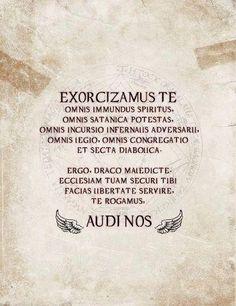 Exorcism :)