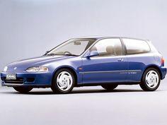 Honda Civic SiR-II Hatchback (1991 – 1995).