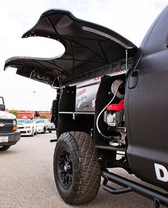 pickup hidden | Goodies include a roof rack that doubles as a viewing deck, fold-up ...