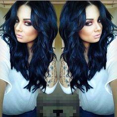 Manic Panic 101 Hair Color Guide Manicpanic Blue Black Dye Dark