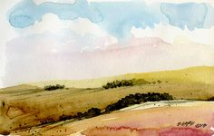 landscape sketch | Flickr - Photo Sharing!