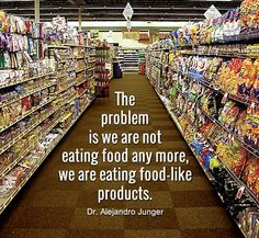 A great summary of the number one problem with the American diet!