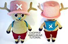 Tutorial CHOPPER One Piece amigurumi | HOW TO CROCHET CHOPPER OF ONE PIECE AMIGURUMI