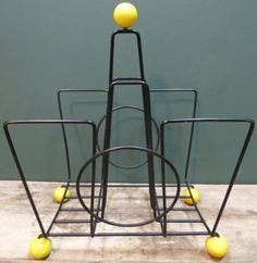#vintage atomic magazine rack being sold by & in support of Isabel Hospice on eBay for Charity