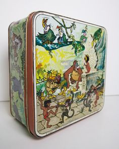 Rare vintage tin box from Disney. Vintage Disney, Trending Outfits, Unique Jewelry, Handmade Gifts, Etsy, Kid Craft Gifts, Craft Gifts, Costume Jewelry, Diy Gifts