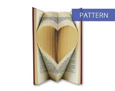 Bookfolding patterns - Heart - 120 Folds - Including manual