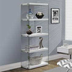 "Monarch Specialties Inc. 60"" Accent Shelves & Reviews | Wayfair"