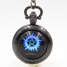 Supernatural Analog Pocket Watch //Price: $11.99 & FREE Shipping //     #thewalkingdead #walkingdead #thewalkingdeadfamily #gameofthrones #gameofthronesfamily #supernatural #vikings #strangerthings #thebigbangtheory #theflash #sherlock #doctorwho #series #bestseries #shop #tvshow #favoriteseries