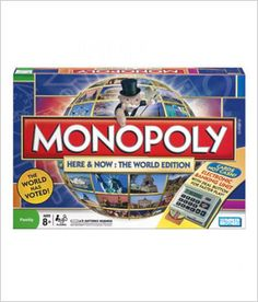 Monopoly Here & Now: The World Edition Electronic Banking Unit Board Game Parker Monopoly Board, Monopoly Game, Fun Games, Games To Play, Board Games For Couples, Picture Site, Childhood Games, Childhood Memories, Games