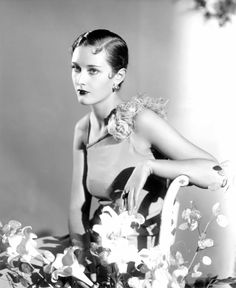 Primrose Salt, Debutante of the Year, shown with the fashionable Eton crop hairstyle, Photograph by Paul Tanqueray, 1933 Courtesy of a Private Collection 1930s Fashion, Vintage Fashion, Film Movie, Crop Hair, Moda Vintage, Glamour, Star Wars, Poses, Day For Night