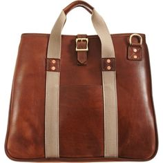 Ramsey Day Tote - Brown / J.W. Hulme