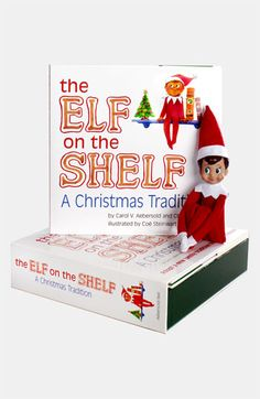 Carol Aebersold and Chanda Bell 'The Elf on the Shelf®: A Christmas Tradition™' Book & Boy Elf available at #Nordstrom