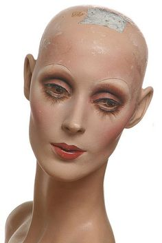 """Torso from Rootstein' s """"The collection with original vintage factory makeup Vintage Mannequin, Mannequin Heads, Store Mannequins, Hippie Culture, Doll Parts, Doll Face, Art Dolls, Sculpting, Portrait Photography"""