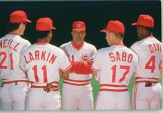 1990 Cincinnati Reds players - Google Search