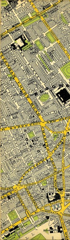 stanfords map of central london 1897