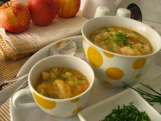 Karfiolová polievka a krupicové noky Ethnic Recipes, Food, Essen, Meals, Yemek, Eten