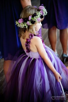 Adorable flower girl dress! | Colorband PhotoArtisans  http://www.colorbandphotoartisans.com | Oklahoma wedding Photographers